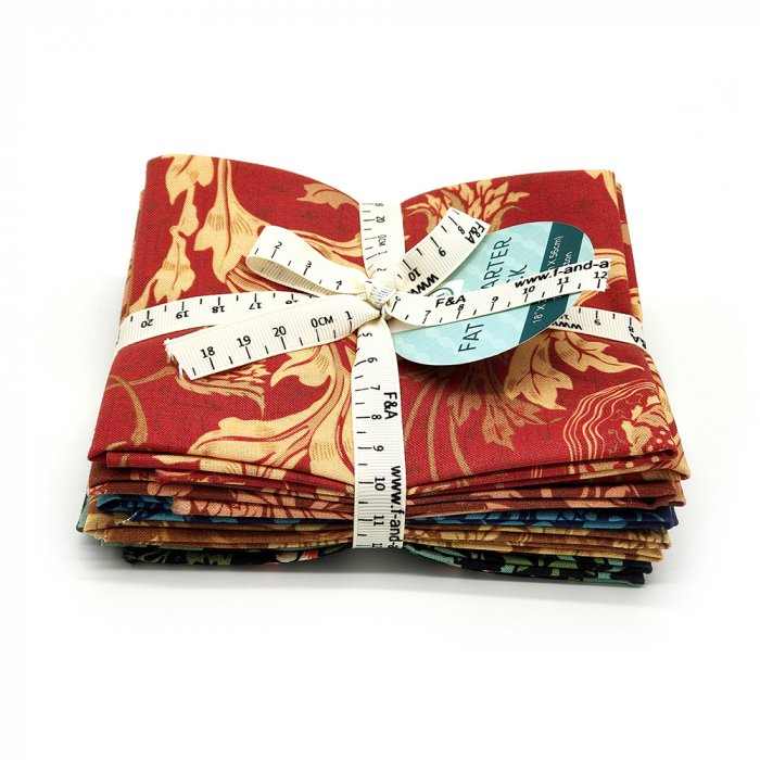5 Pieces pack Floral Cotton Fat Quarters Fabric Bundles